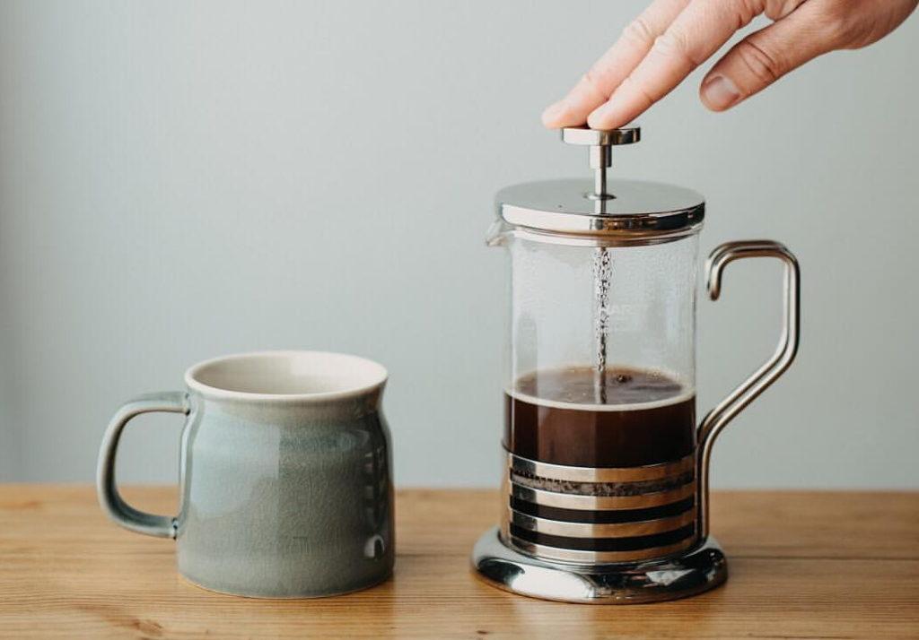 как заварить кофе, френч-пресс, как готовить кофе