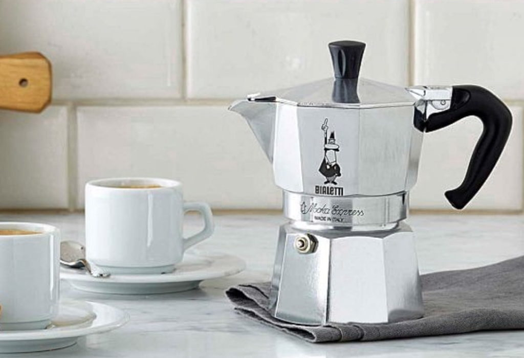 как готовить кофе в гейзерной кофеварке, мока, биалетти, bialetti