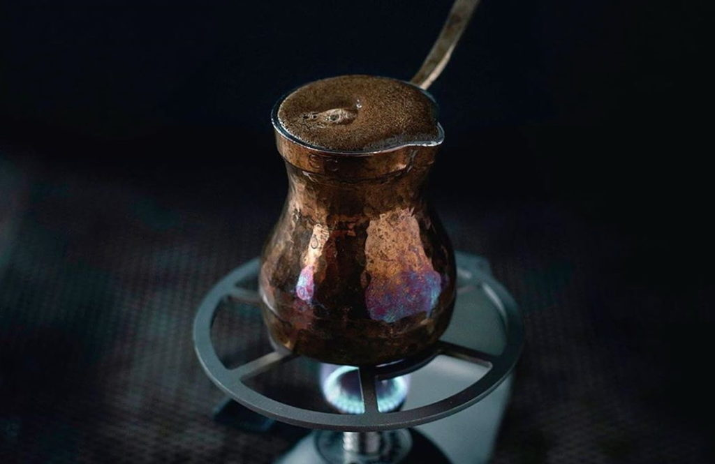 кофе в турке, кофе по-турецки, как заварить кофе